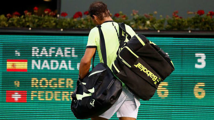 Nadal y Muguruza, eliminados en Indian Wells