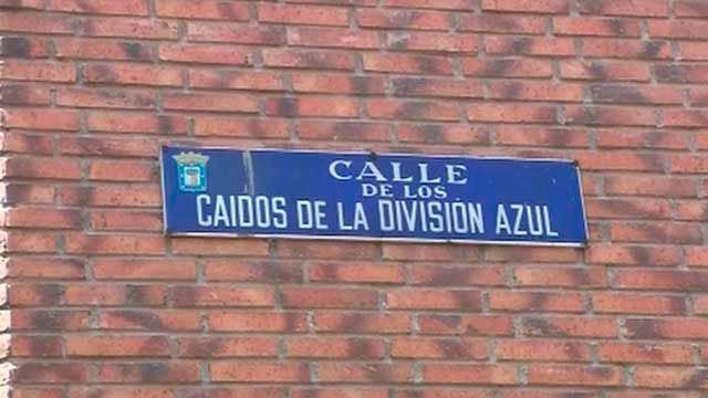 Calle de Caidos de la División Azul de Madrid