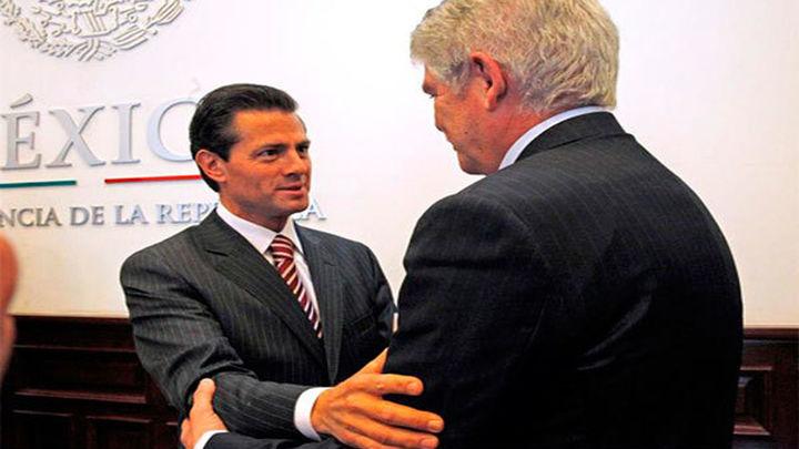 """Peña Nieto ve """"un cambio de actitud"""" en Trump y agradece a España su apoyo"""