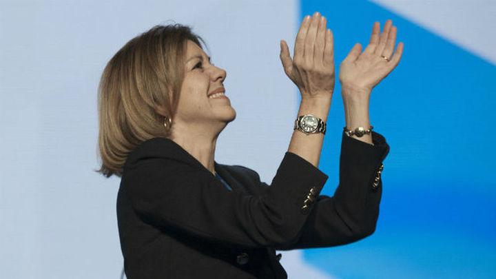 Cospedal, reelegida presidenta del PP de Castilla-La Mancha con el 95,43% de los votos