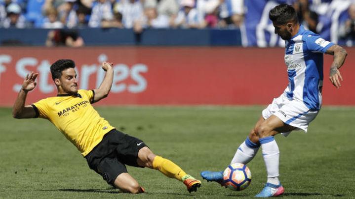 0-0. El Leganés domina a un Málaga sin ideas que perdonó casi al final
