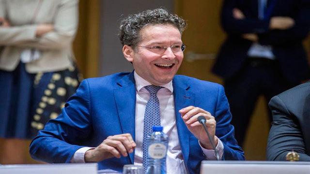 El presidente del Eurogrupo, el holandés Jeroen Dijsselbloem