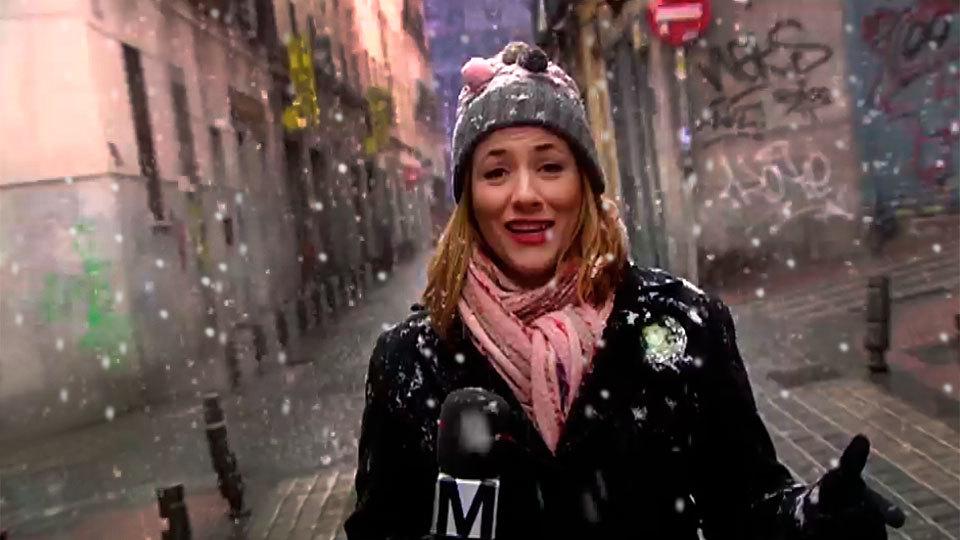 Así han vivido la nevada los madrileños