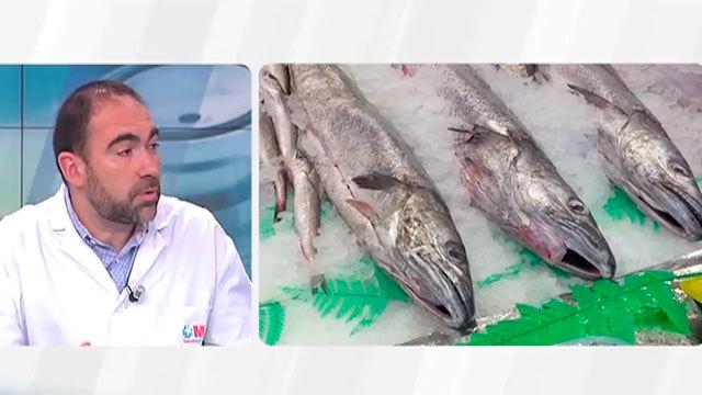Pescado, tres veces por semana