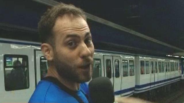 ¿Llegará antes César que el metro?