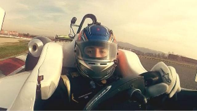 Tatiana, piloto de Fórmula 1
