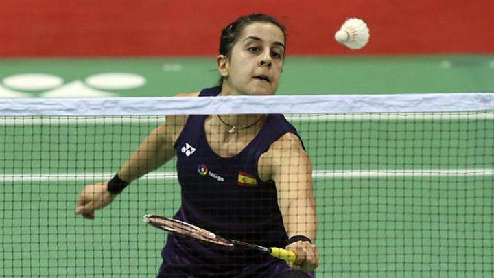 Carolina Marín, feliz con su inicio en la India