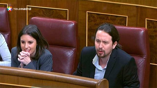 Irene Montero y Pablo Iglesias