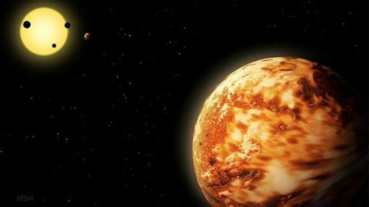 Localizado un Neptuno 'pasado por alto' a 3.000 años luz