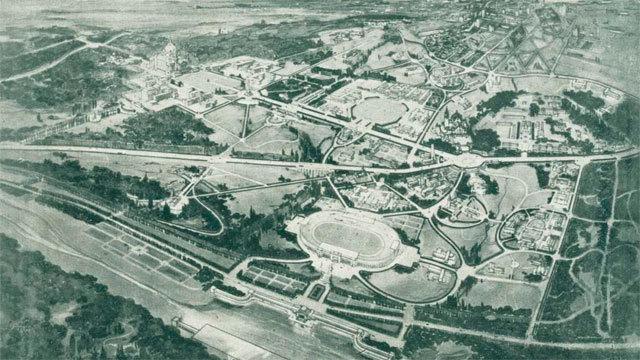 Proyecto inicial de la Ciudad Universitaria
