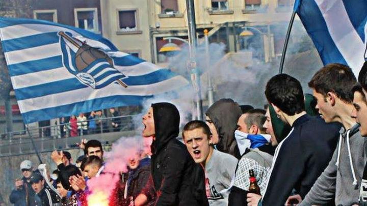 La Real condena la agresión a seguidores del Leganés en San Sebastián