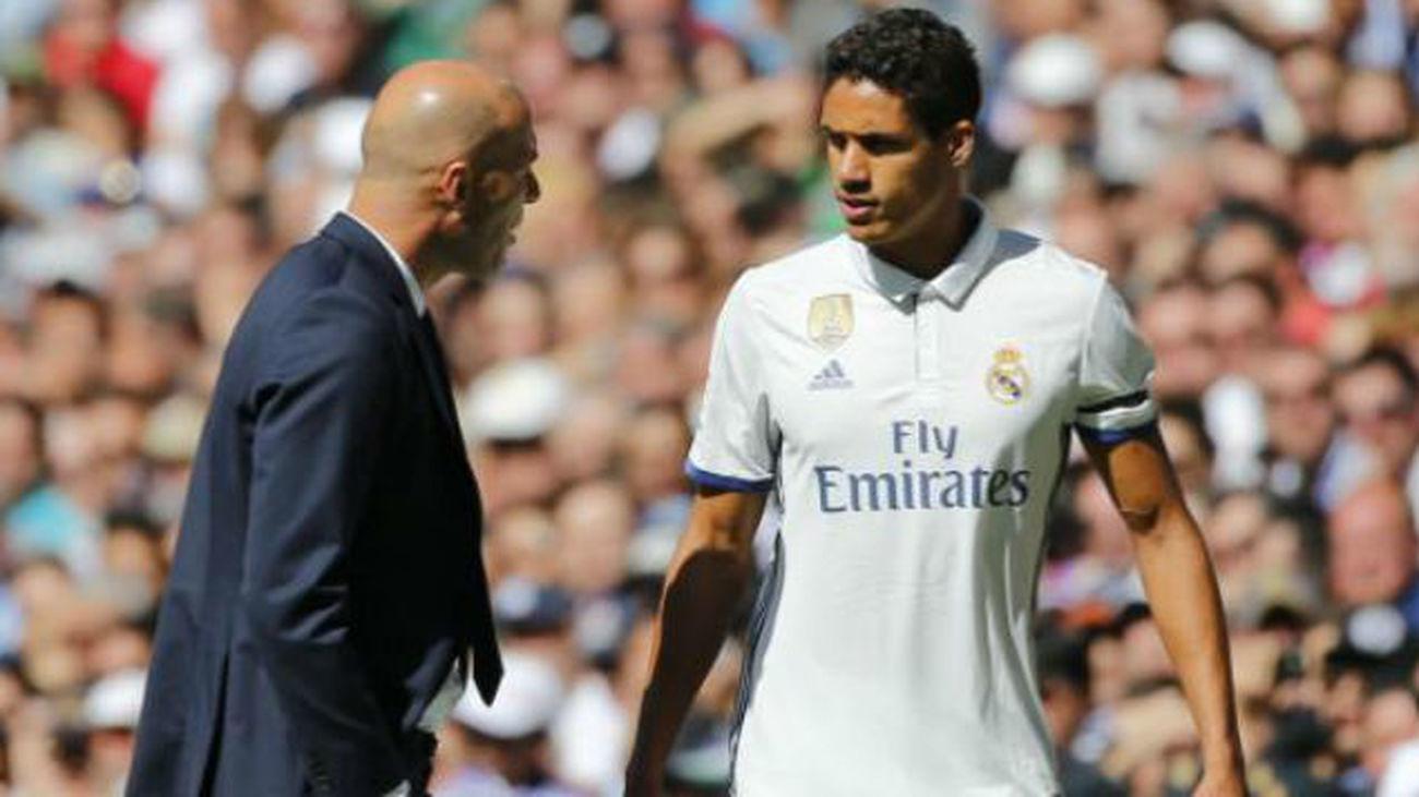 Zidane y Varane