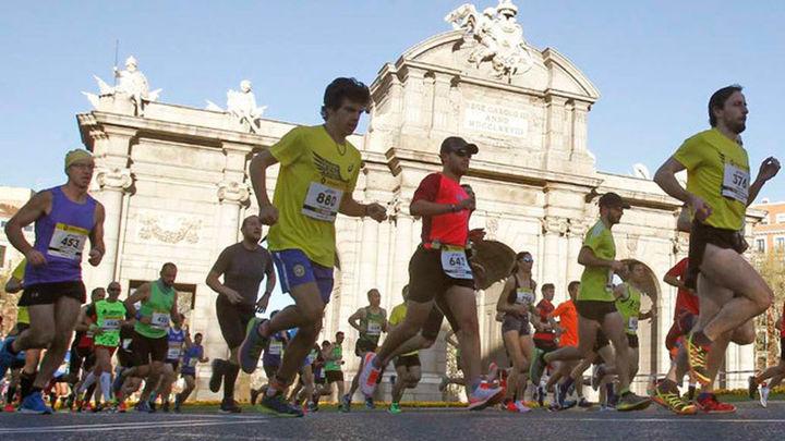 26.000 corredores toman las calles de Madrid en la Medio Maratón