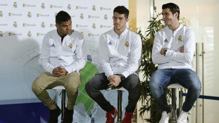 """Morata: """"Es un orgullo compartir vestuario con leyendas del Real Madrid"""""""