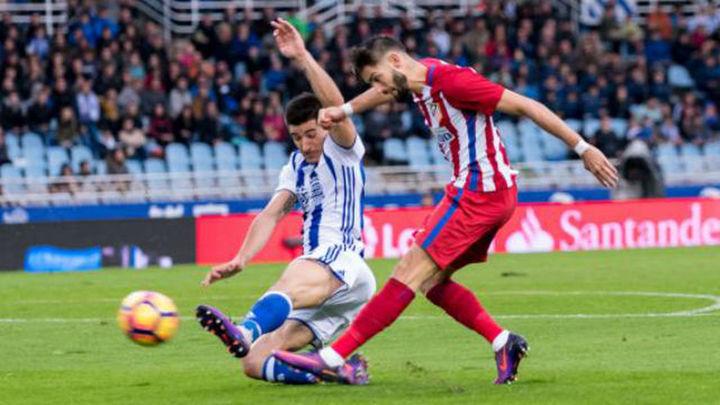 El Atlético defiende el tercer puesto ante la Real Sociedad