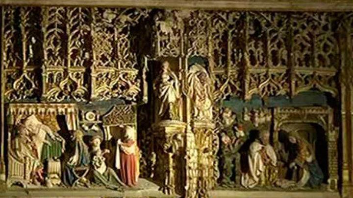 El Real Monasterio de Santa María de El Paular estrena iluminación