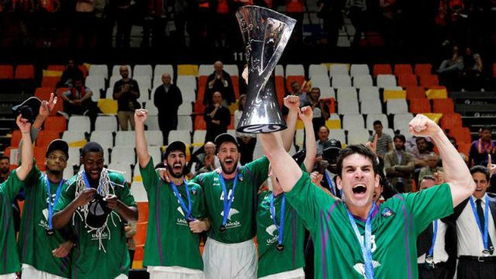 58-63. Unicaja conquista la Eurocup con una remontada épica