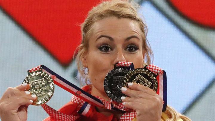 Lydia Valentín, campeona de Europa por tercera vez