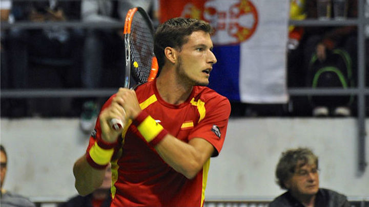 España, al borde de la eliminación en la Copa Davis