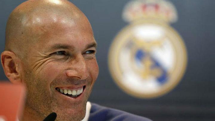 """Zidane: """"El sitio de Isco es el Real Madrid"""""""