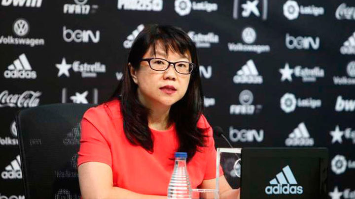 La presidenta del Valencia anuncia que abandona el cargo  a final de temporada