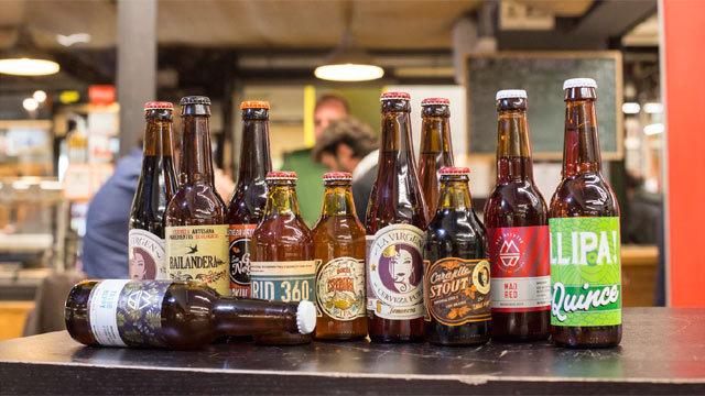 Algunas de las cervezas que se podrán degustar
