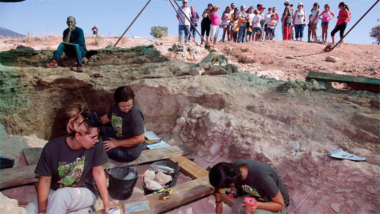 El parque arqueológico se inauguró en septiembre de 2015