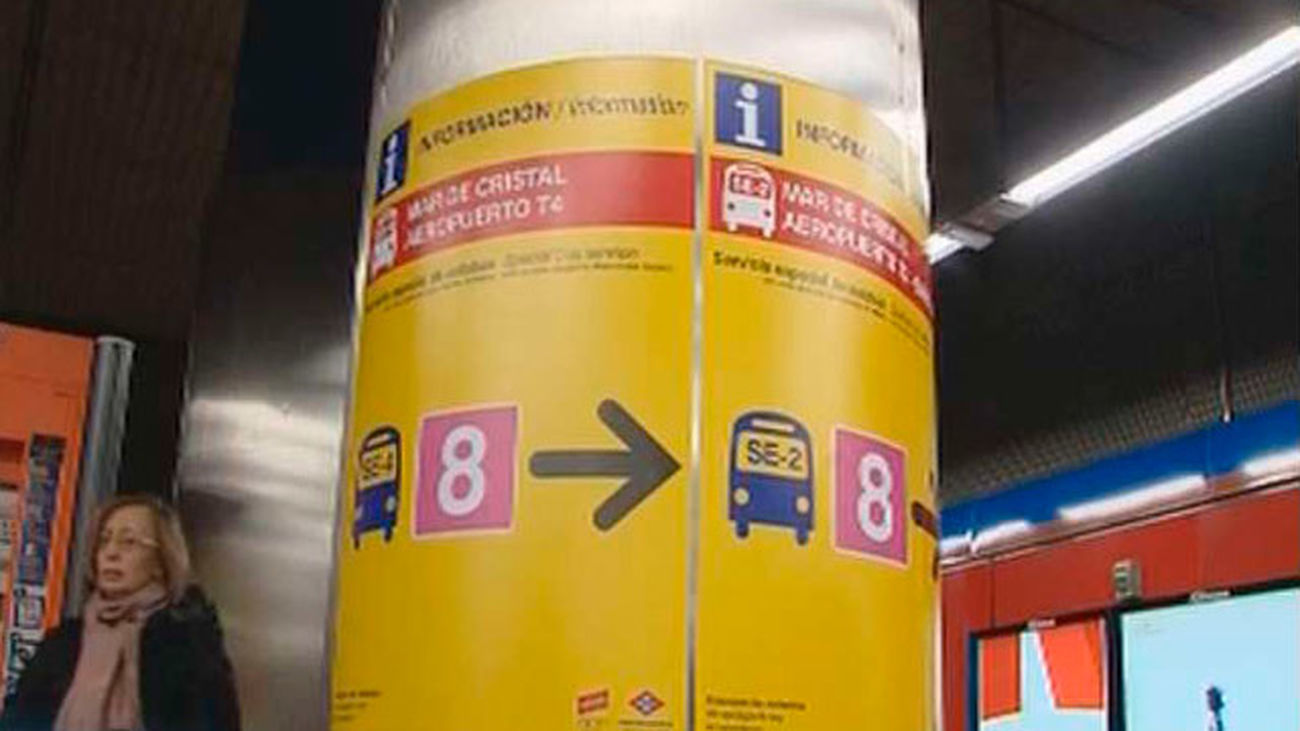 Este miércoles reabrirá  la línea 8  de Metro, una semana antes de lo previsto
