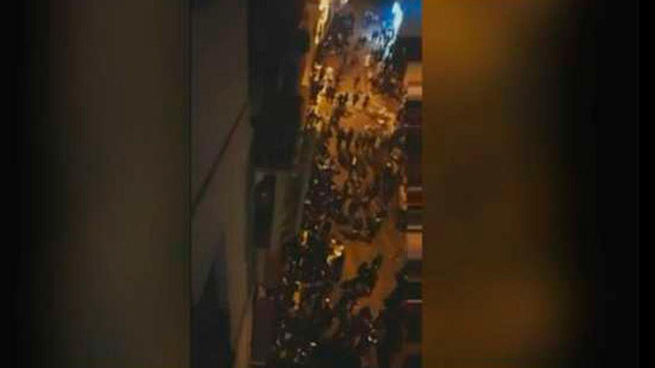 Una pelea provoca una avalancha al paso de la procesión del Cautivo en Málaga