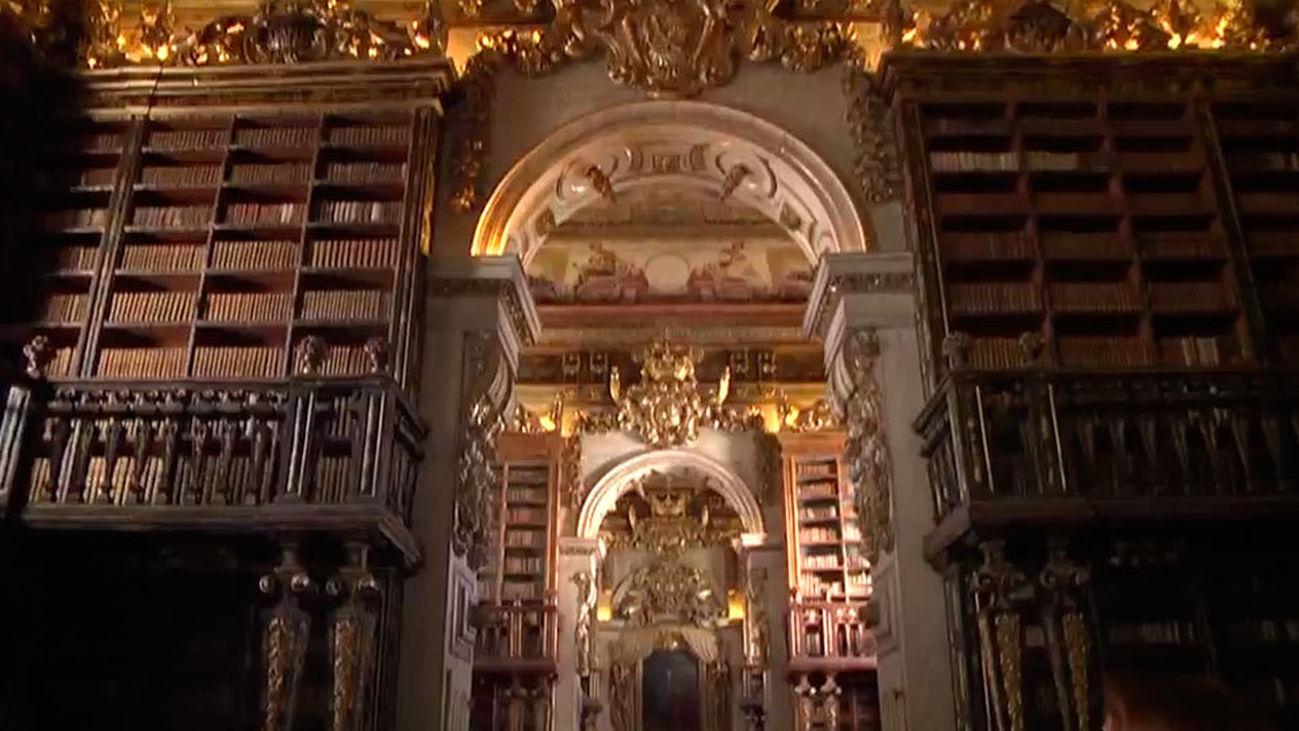 La Biblioteca Joanina, símbolo de la Universidad de Coimbra