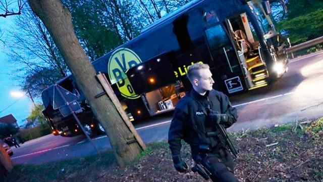 Imagen del autobús del Dortmund