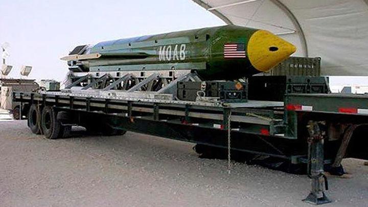 EEUU usa por primera vez la 'Madre de todas las bombas' contra EI en Afganistán