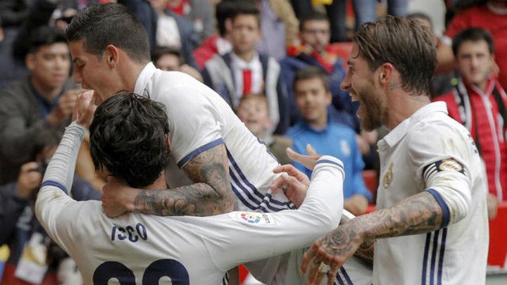 2-3. Isco le evita un problema al Madrid en el 90