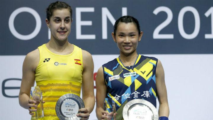 Carolina Marín pierde la final del Abierto de Singapur