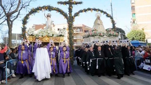Procesiones de Semana Santa en Mdrid - Móstoles