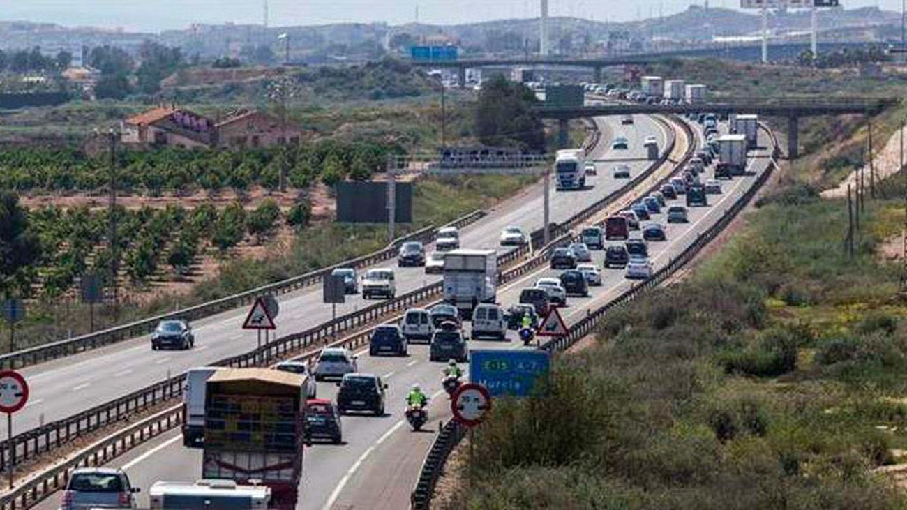 Retenciones en las salidas de las grandes ciudades al inicio del puente