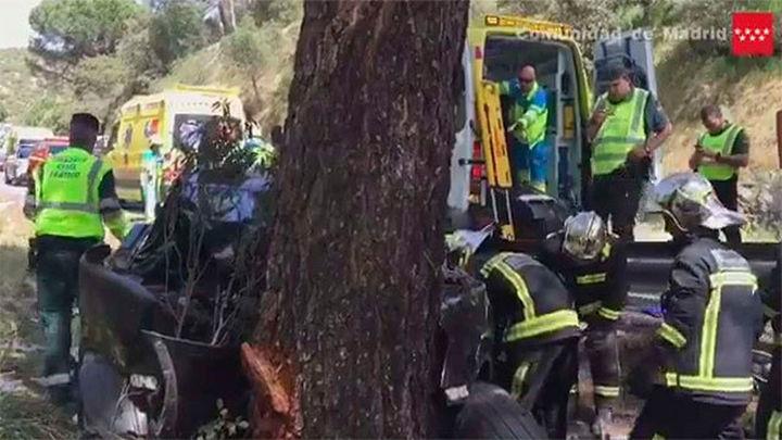 Un hombre de 60 años muere en accidente de tráfico en San Martín de Valdeiglesias