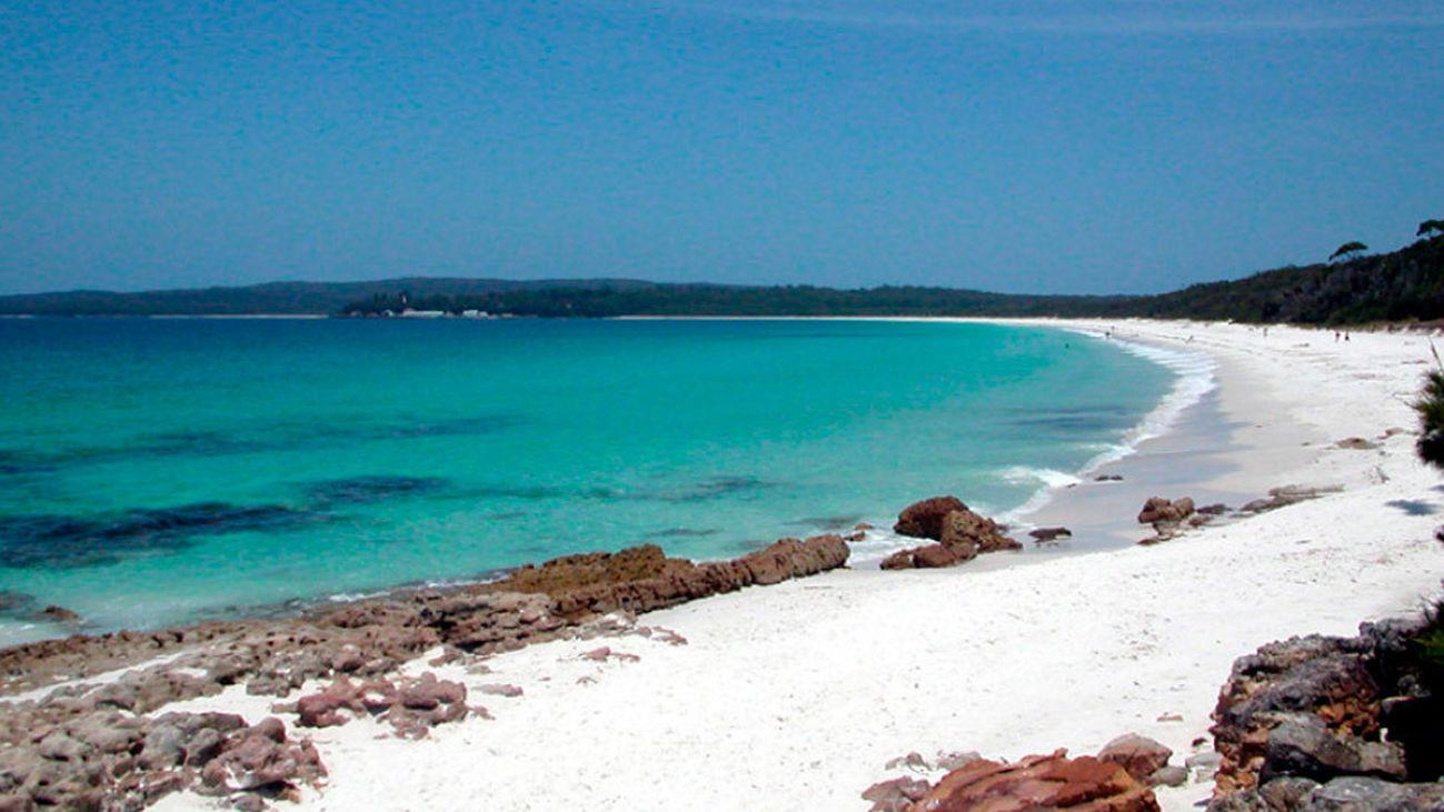 Hyams Beach, la playa con la arena más blanca del mundo