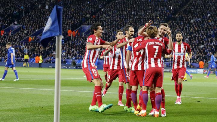 1-1. El Atlético, a semifinales tras empatar ante el Leicester