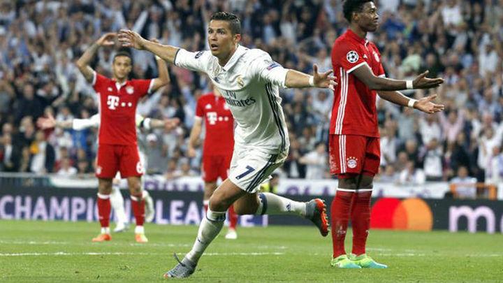 4-2. Cristiano, con un hat trick, lleva al Madrid a una nueva semifinal