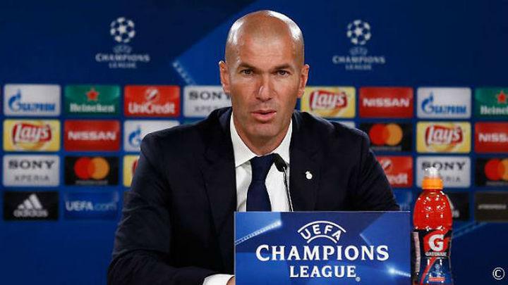 "Zidane: ""Hemos merecido pasar en ambos partidos"""