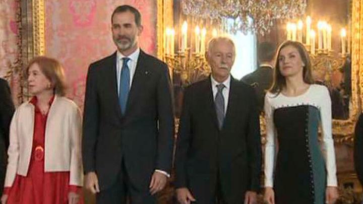 El Rey defiende el idioma español y la literatura en castellano