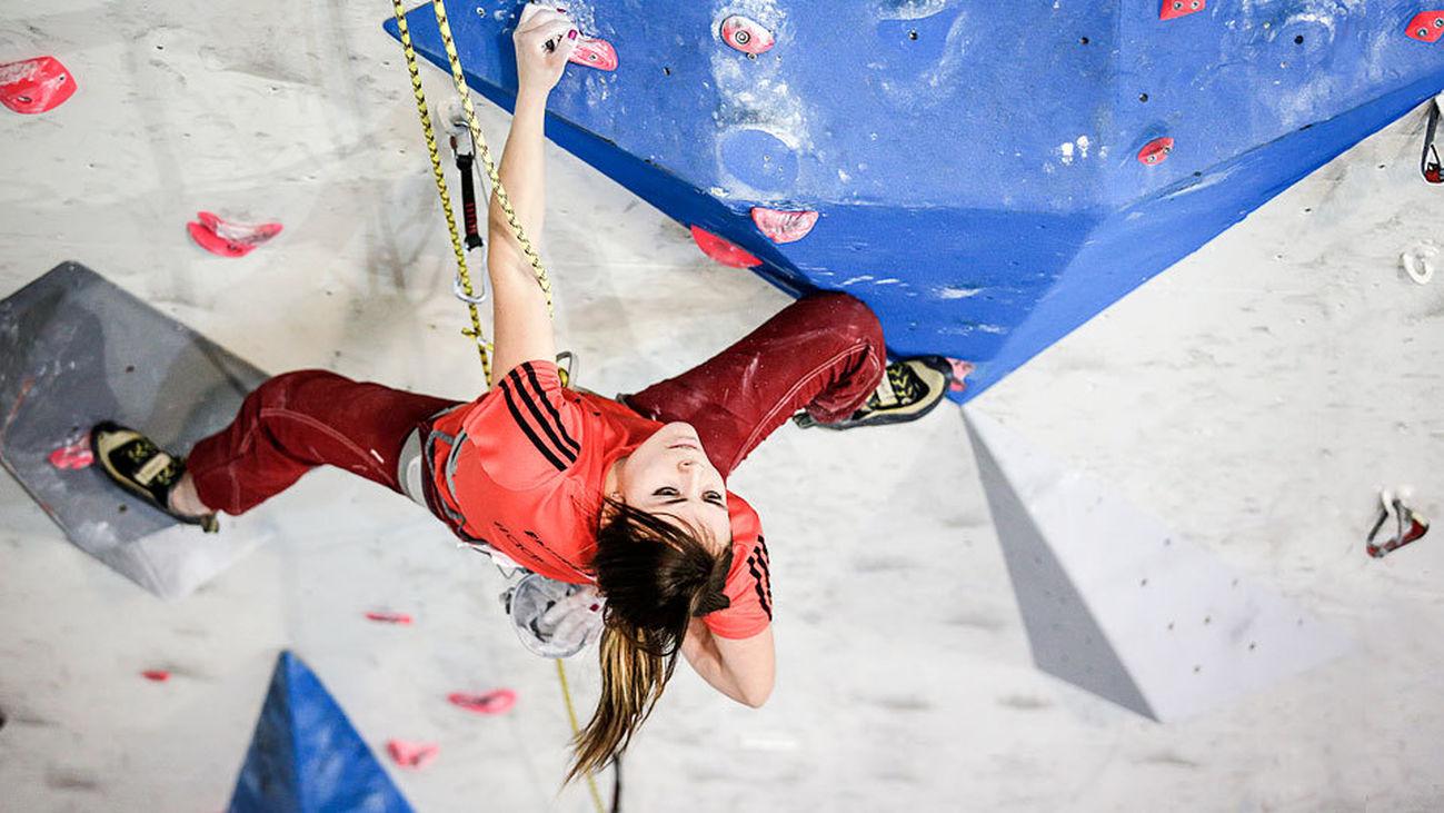 Los mejores escaladores de España compiten en Madrid