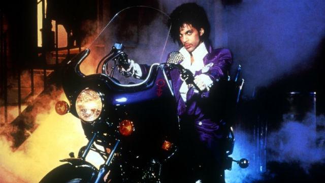 """Portada de """"Purple Rain"""" (1984)"""