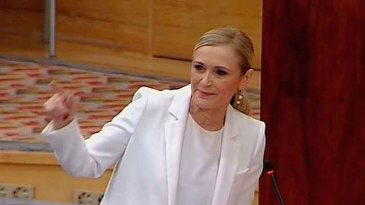 """Cifuentes: """"Mi Gobierno denunció el caso Canal ante la Fiscalía hace casi un año"""""""