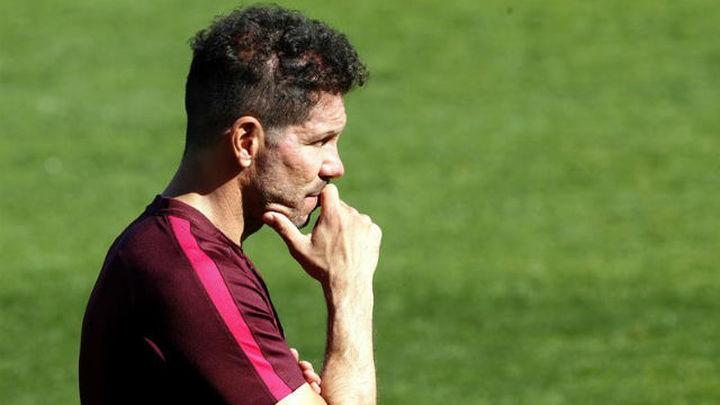 """Simeone: """"El objetivo es llegar a la final y ganar al que te ha tocado"""""""