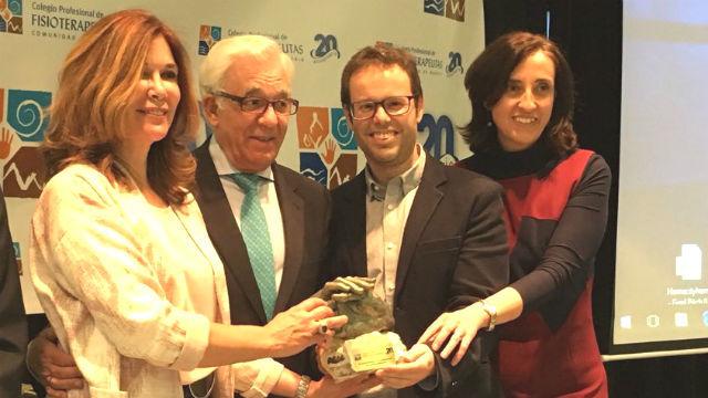 Los fisioterapeutas madrileños premian al programa de Ely del Valle de Onda Madrid