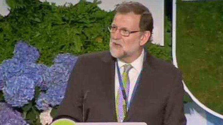 """Rajoy: """"La gente del PP no se porta mal nunca"""""""