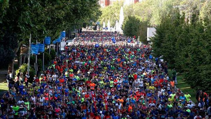 Madrid se echa a la calle en la Rock'n'Roll Maratón
