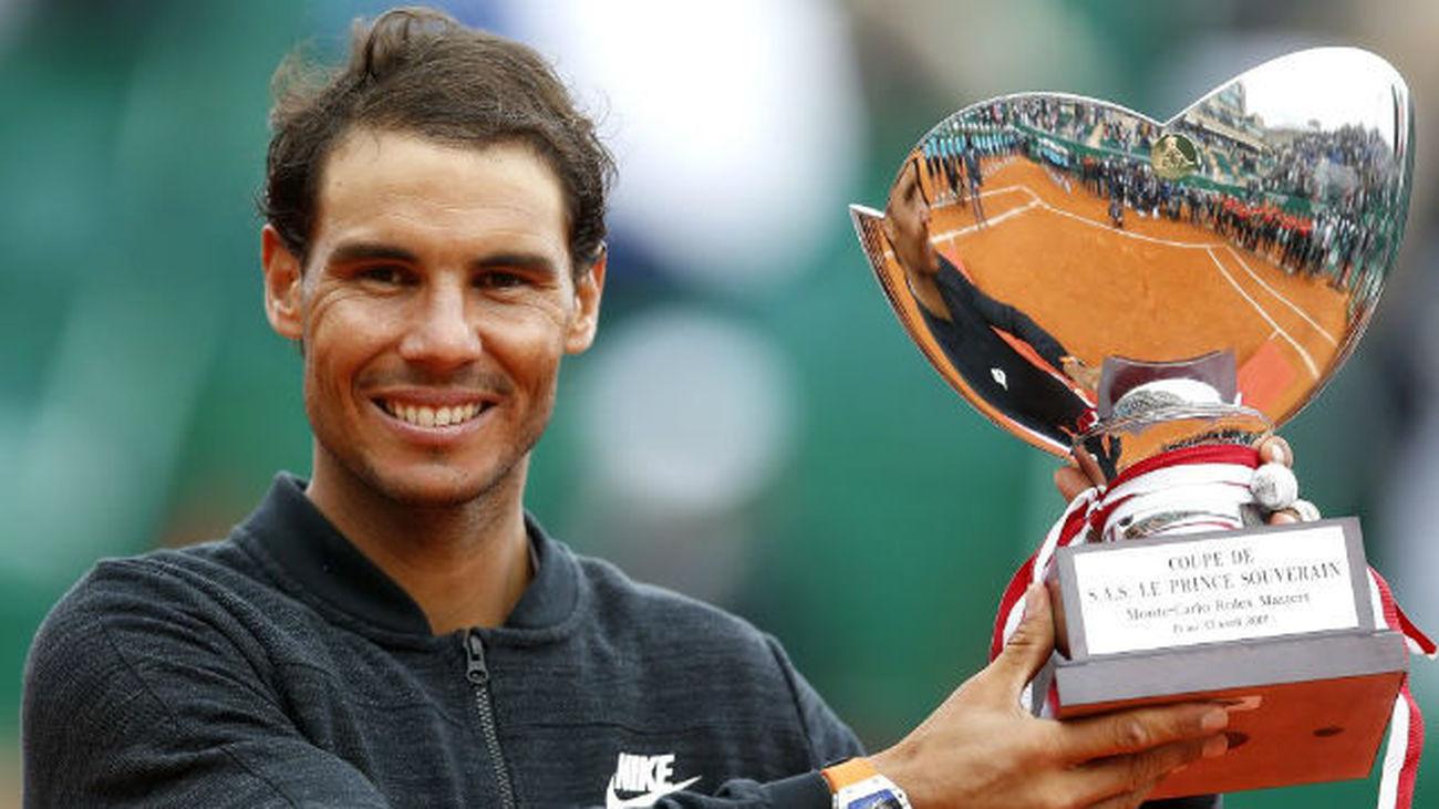Nadal logra su décimo título de Montecarlo